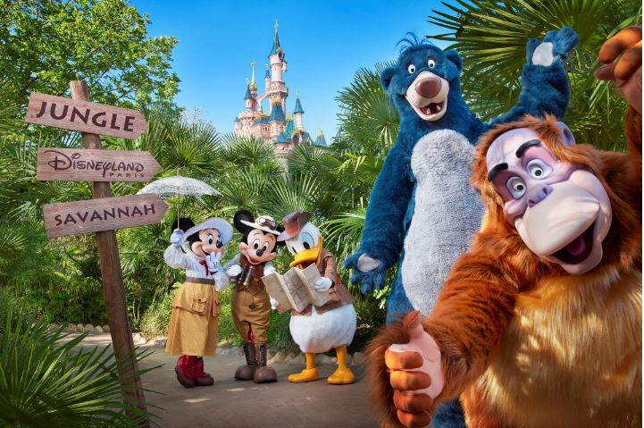 Una noche en la jungla de Disneyland Paris
