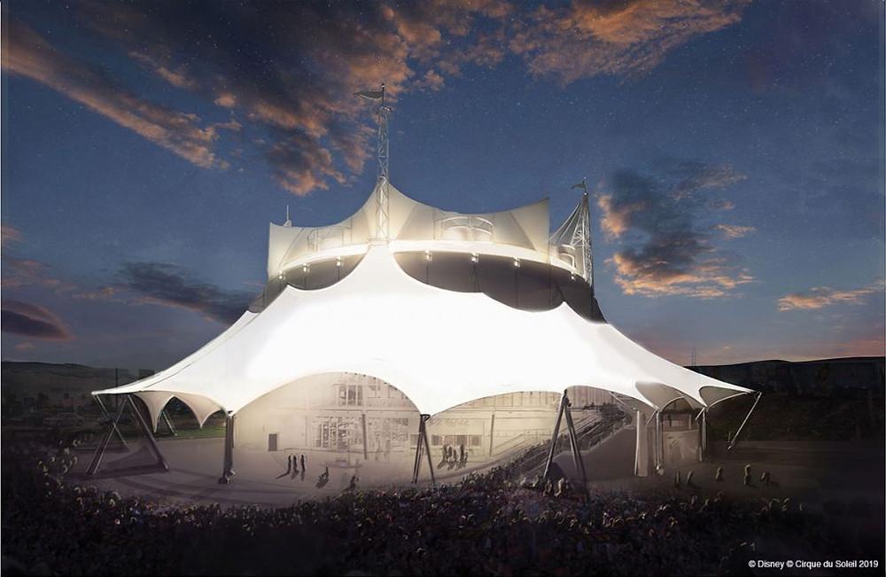 Cirque du Soleil en Disney Springs