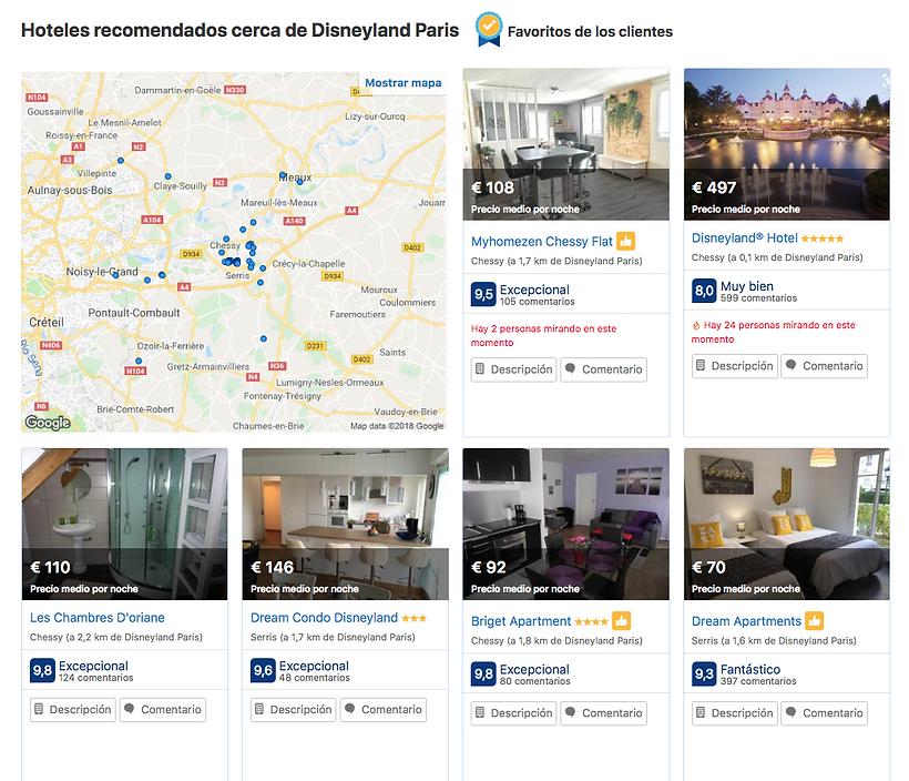 Booking Disneyland Paris rserva hotel viaje