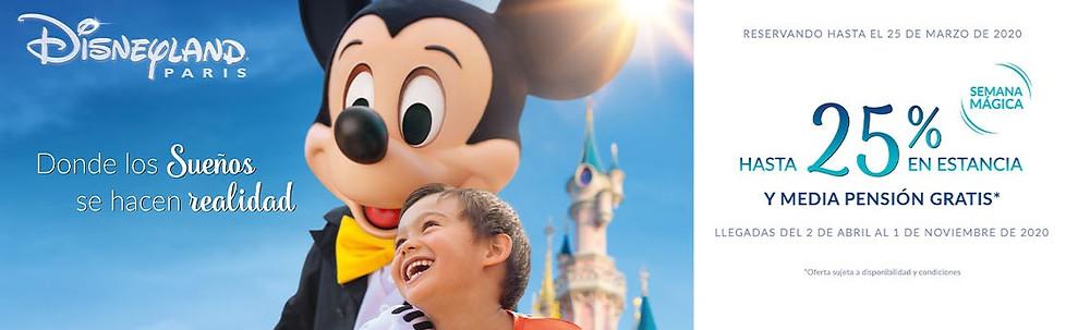 Semana Magica Disneyland Paris 2020