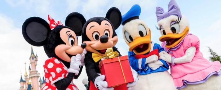 Cajas temáticas y sorpresa Disney regalo