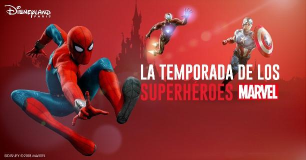 Superhéroes de Marvel: temporada Disneyland Paris