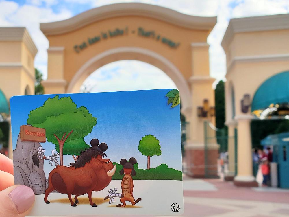 Seguridad en Disneyland Paris: los consejos de Timón y Pumba