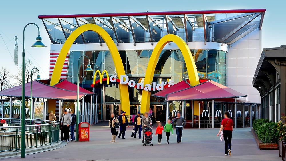 Restaurantes de comida rápida en Disneyland Paris