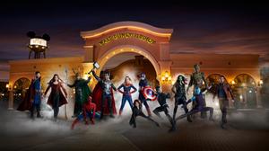 Superheroes de Marvel: temporada Disneyland Paris