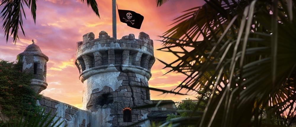 La atracción de Piratas del Caribe en Disneyland Paris