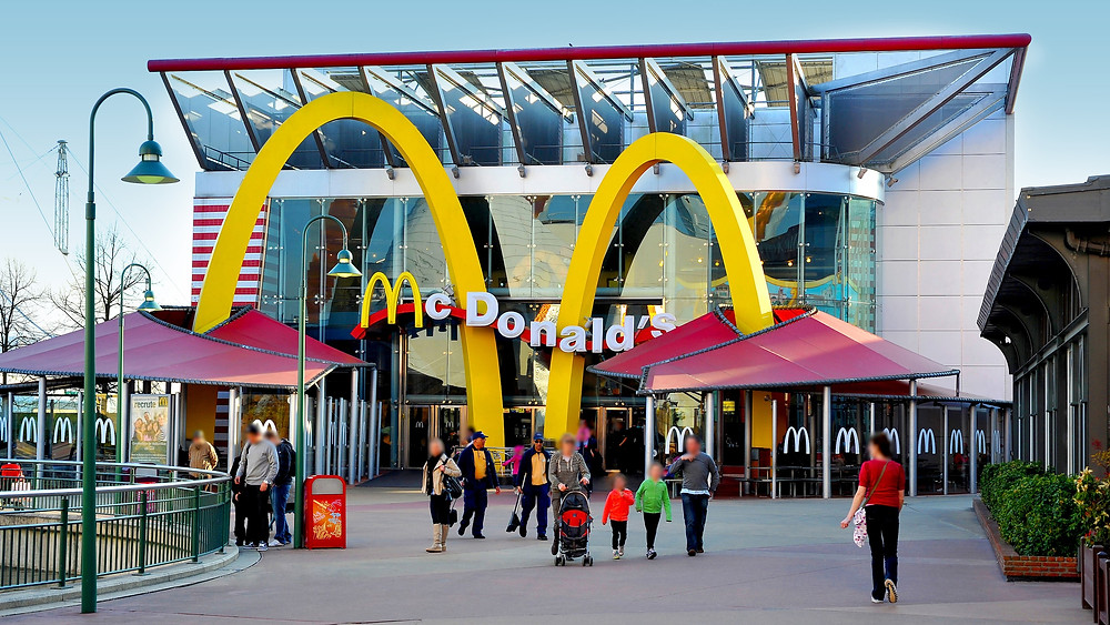 McDonald's en Disney Village Disneyland Paris