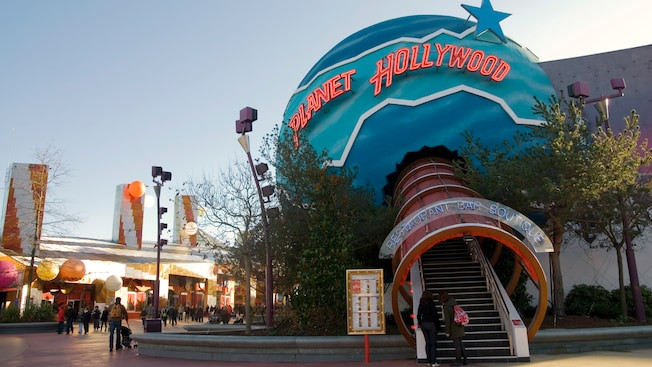 Planet Hollywood en Disney Village Disneyland Paris
