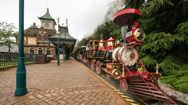 Disneyland Railroad en Disneyland Paris