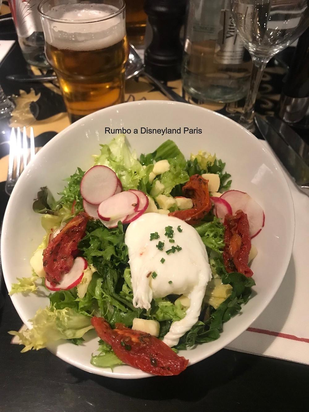 Bistrot chez Rémy en Walt Disney Studios opinion experiencia comida Restaurante Ratatouille