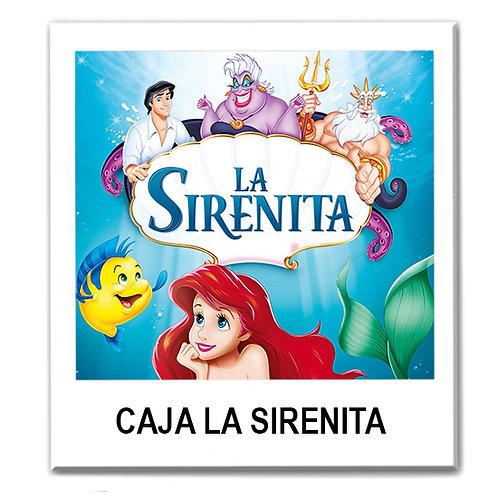 Caja temática de La Sirenita