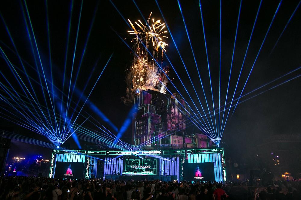 Electroland Disneyland Paris Walt Disney Studios