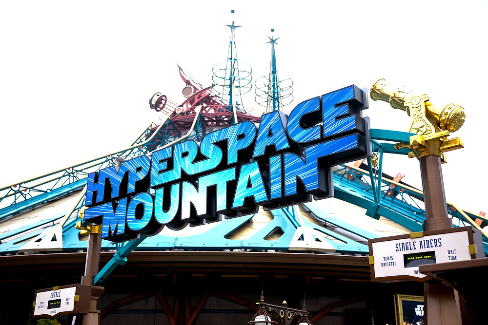 Star Wars Hyperspace Mountain Disneyland Paris