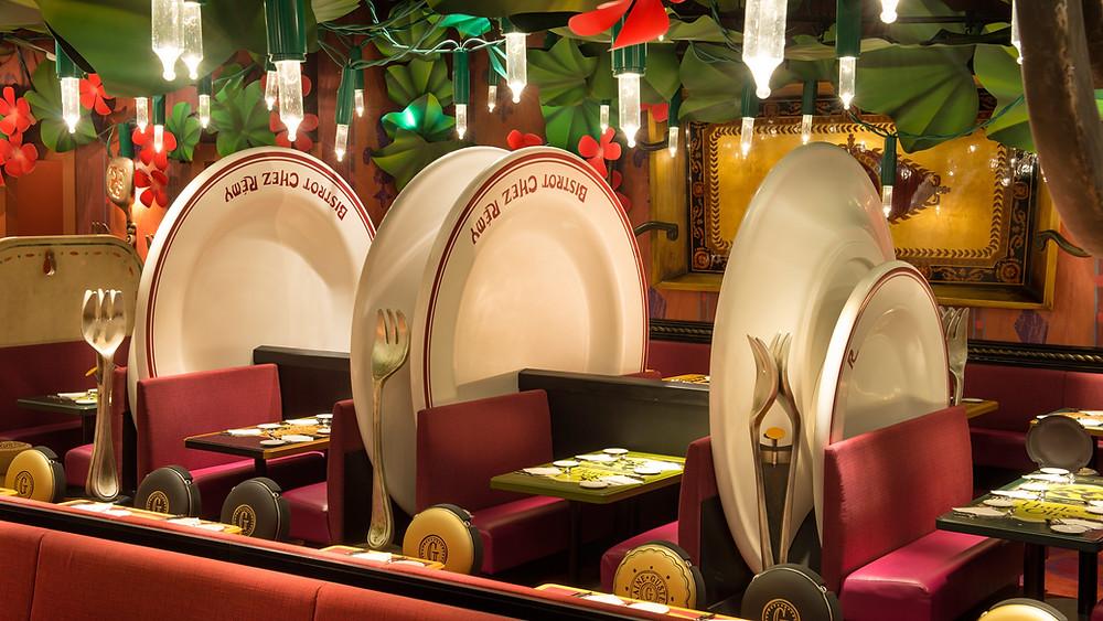 Restaurantes incluidos en Planes de Comidas Plus de Disneyland Paris