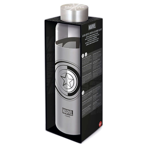 Botella de cristal Vengadores Marvel 585ml