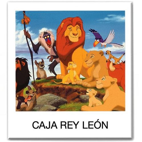 Caja temática de El Rey León