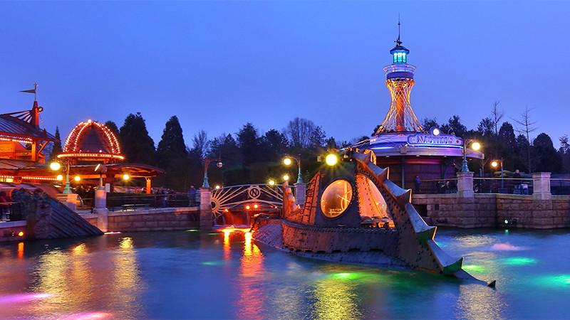Les Mystères du Nautilus atracciones Disneyland Paris