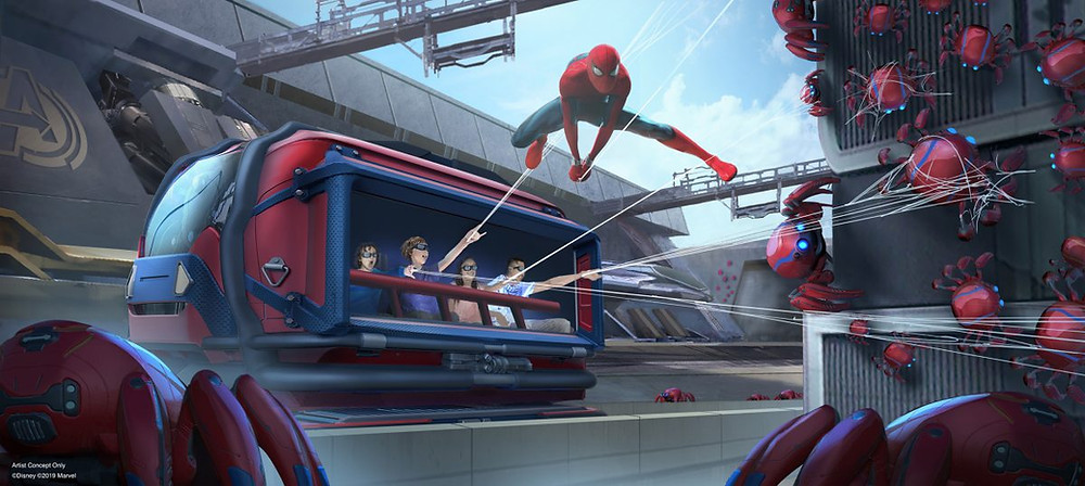 Avengers Campus: área de Marvel en Disneyland Paris