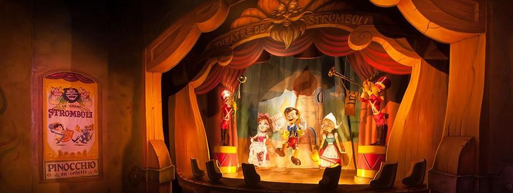 Les Voyages de Pinocchio Disneyland Paris