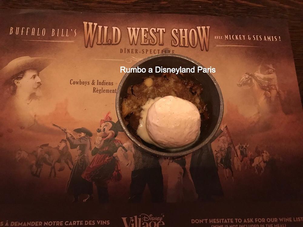 Buffalo Bill's Wild West Show... Disney Village Disneyland Paris cena espectaculo restaurante