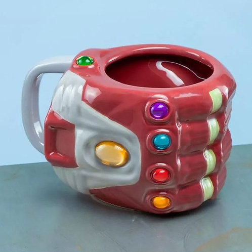 Taza XL Guantelete Iron Man
