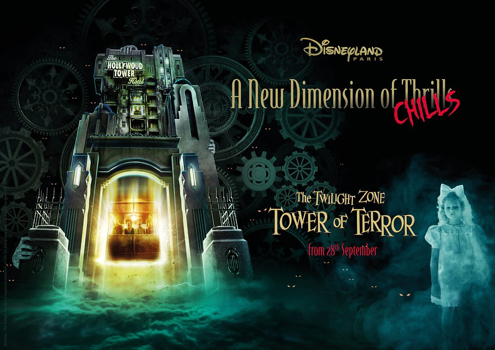 Novedades en Twilight Zone Tower of Terror Disneyland Paris