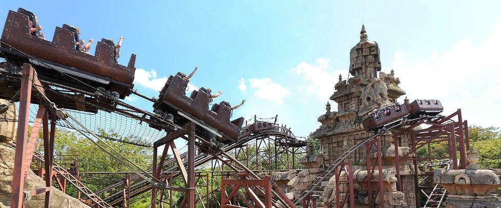 atracciones en el parque Disneyland Paris