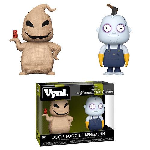 Figuras Vynl Oogie Boogie and Behemoth Pesadilla Antes de Navidad