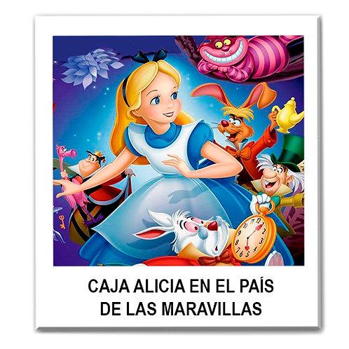 Caja temática de Alicia en el País de las Maravillas