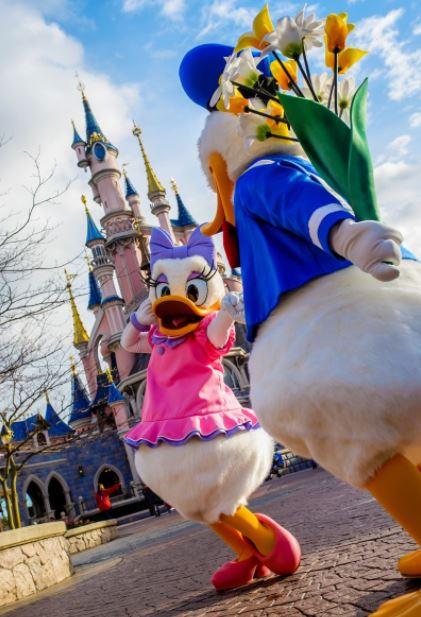Planes románticos para parejas en Disneyland Paris: San Valentín