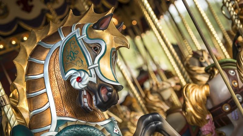 Le Carrousel de Lancelot en Disneyland Paris