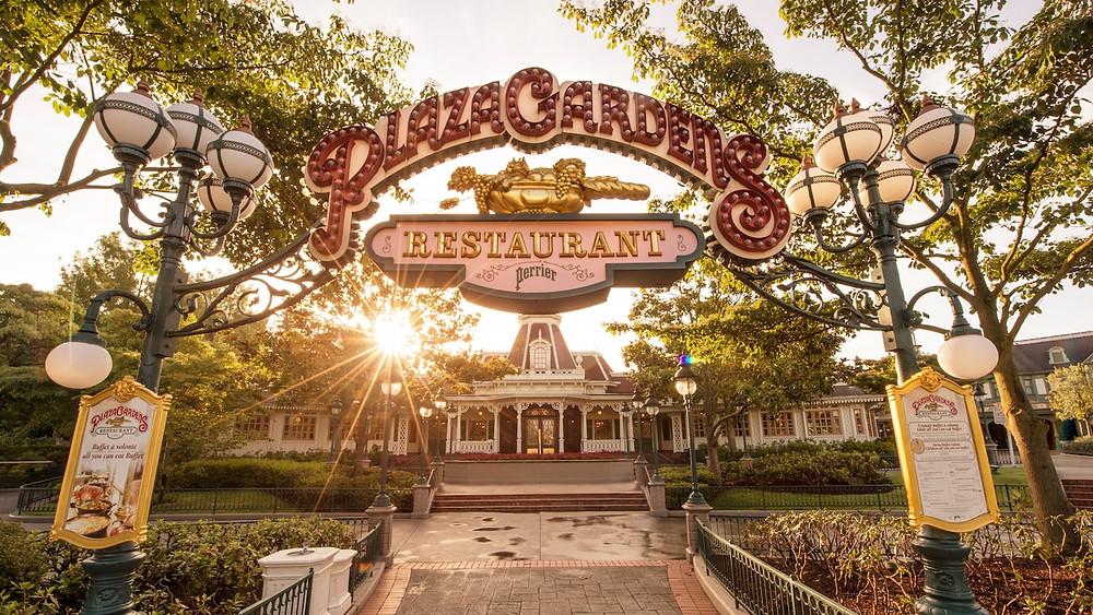 Plaza Gardens Restaurant en Disneyland Paris