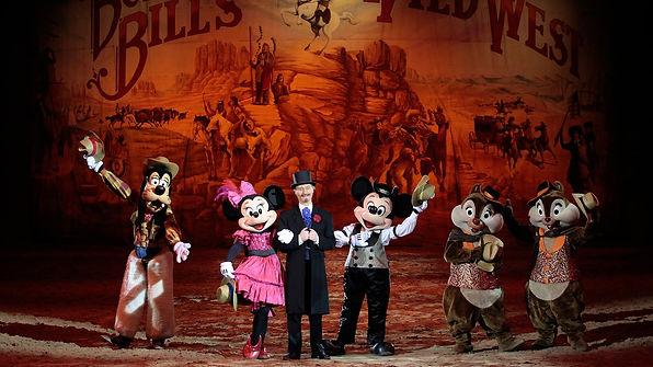 """""""Buffalo Bill's Wild West Show..."""" en Disney Village."""