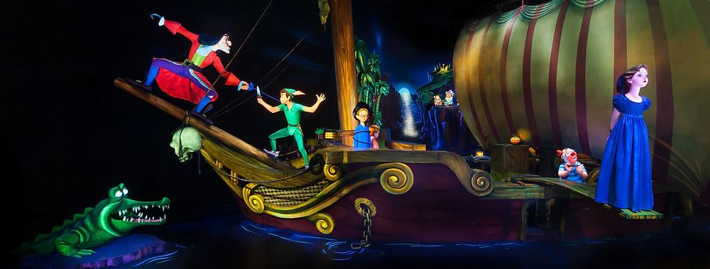 Peter Pan's Flight Disneyland Paris