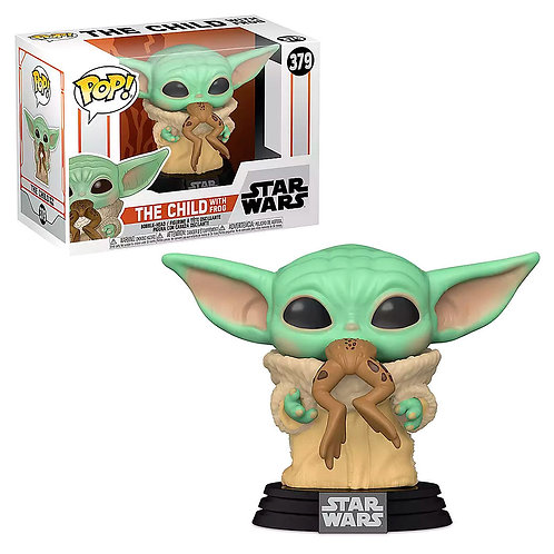 Funko POP The Child with Frog