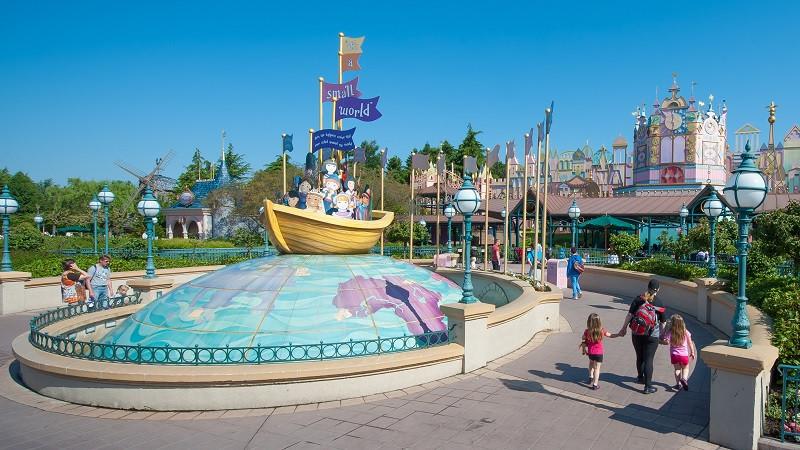 Planes románticos para parejas en Disneyland Paris