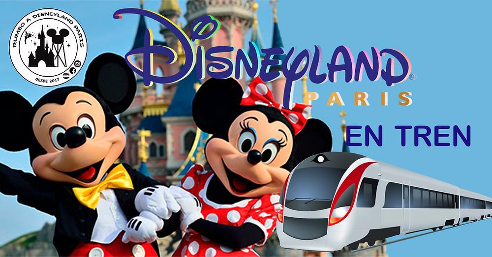 Ir a Disneyland Paris en tren desde España es posible
