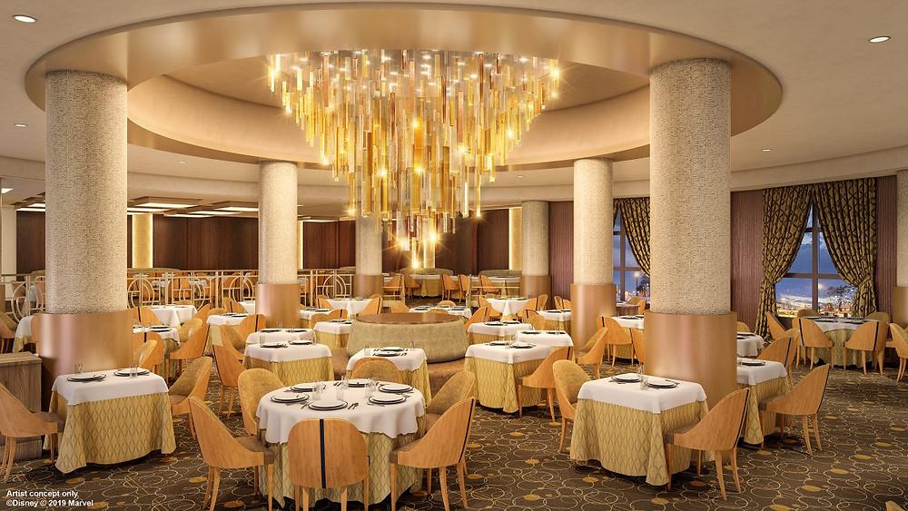 Manhattan Restaurant en el  Hotel New York - The Art of Marvel