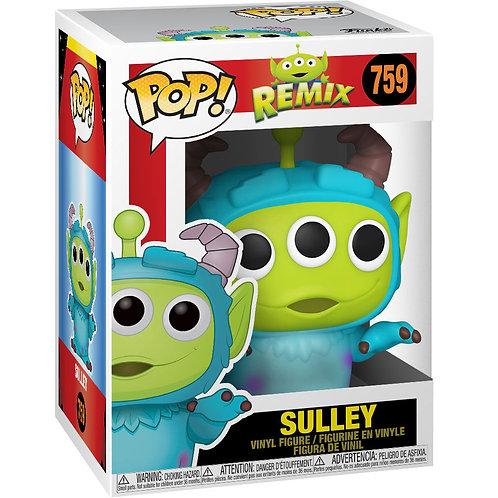 Figura POP Alien Remix Sulley Disney Pixar