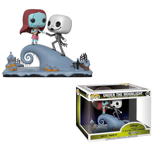 Figuras POP Jack and Sally on the Hill