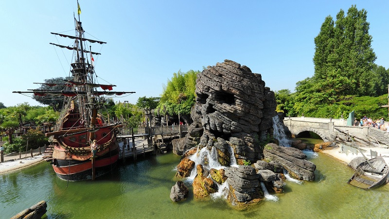 Pirates' Beach en Disneyland Paris