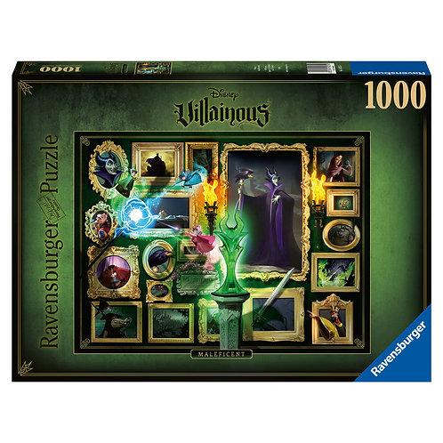 Puzzle Malefica Villanas Disney 1000pz