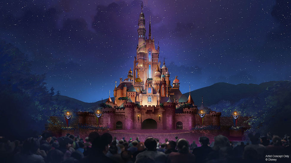 Castle of Magical Dreams en Hong Kong Disneyland
