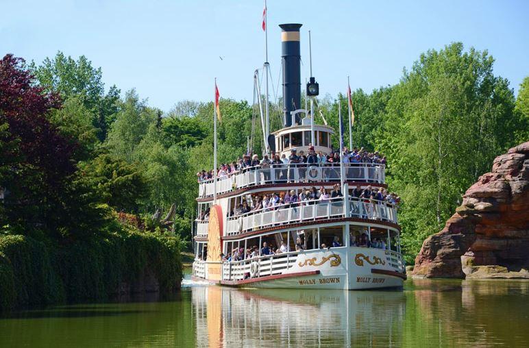 Thunder Mesa Riverboat Landing en Disneyland Paris