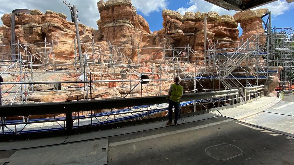 Cars Route 66 Road Trip Walt Disney Studios Disneyland Paris