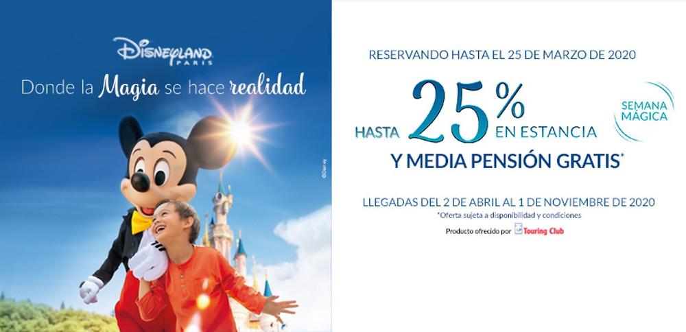 Semana Mágica Disneyland Paris  Viajes El Corte Inglés