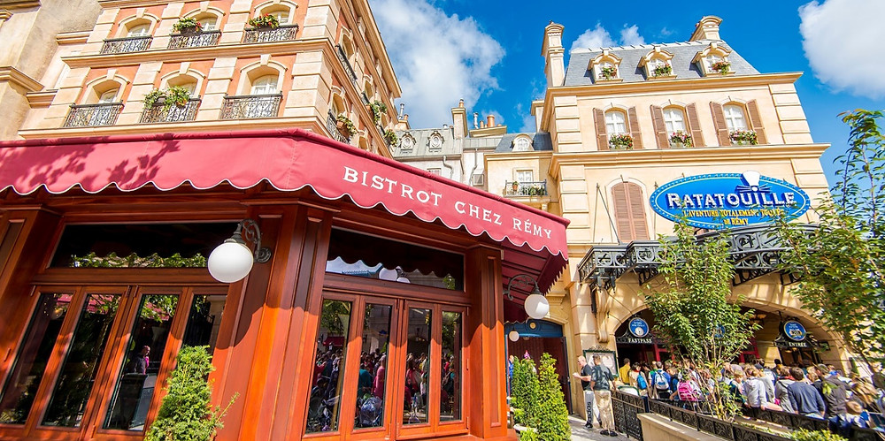 Restaurante Bistrot Chez Rémy Walt Disney Studios