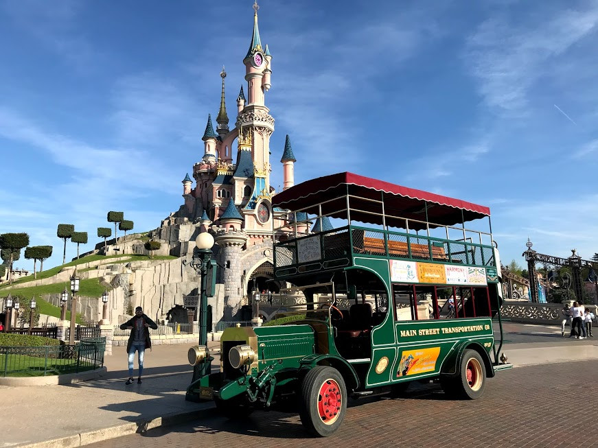 Main Street Vehicles Disneyland Paris