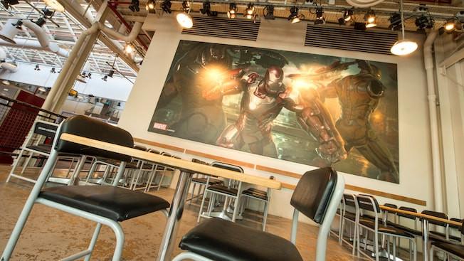 Disney Blockbuster Café en Walt Disney Studios