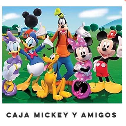 Caja Mickey y sus amigos